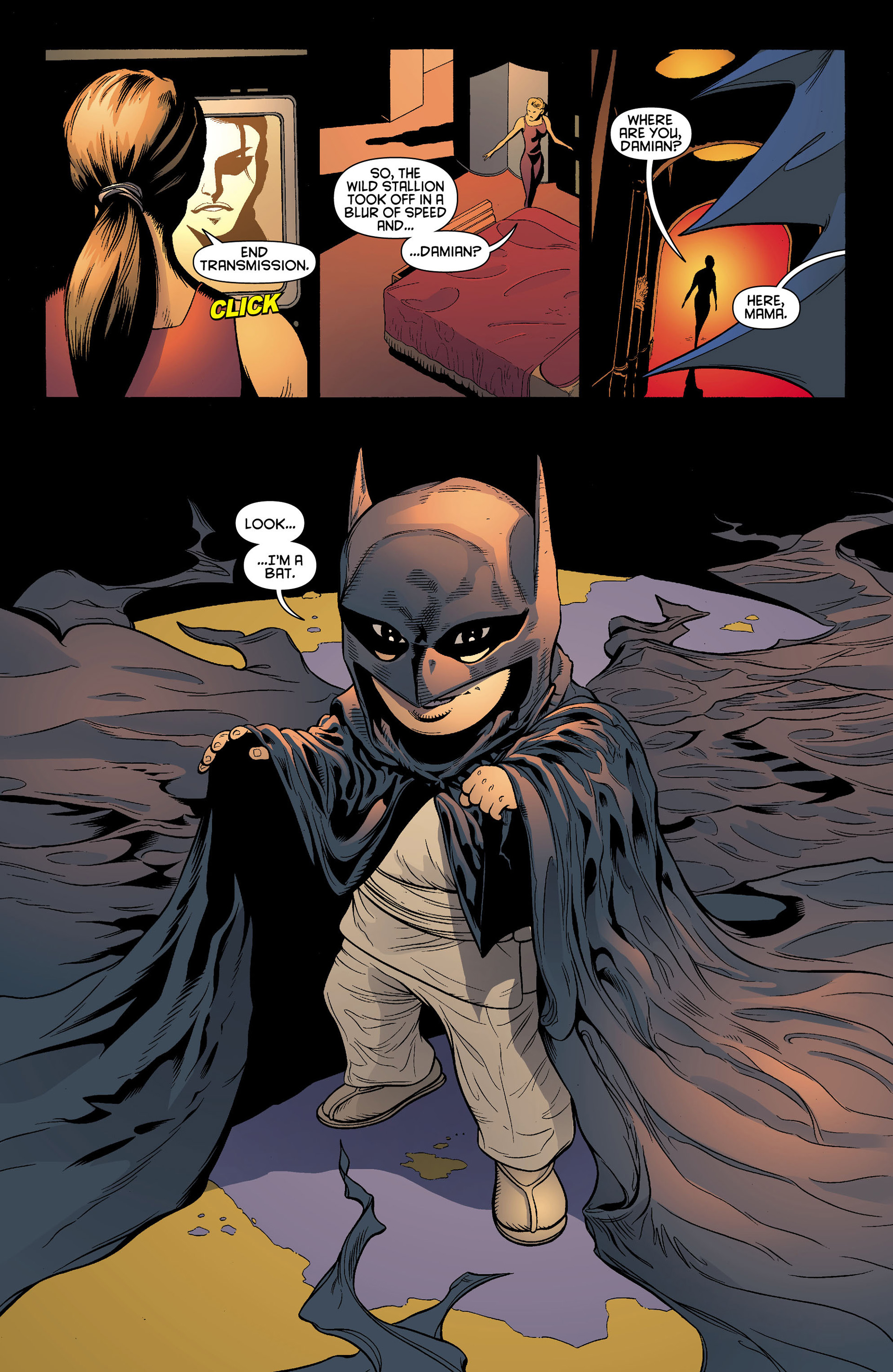 Read online Batman and Robin (2011) comic -  Issue #0 - 8