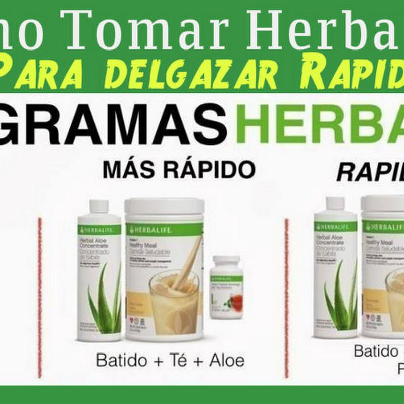 que tomar para bajar de peso con herbalife