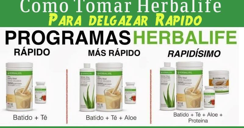 los productos herbalife funcionan para adelgazar
