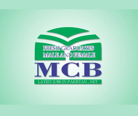 Latest MCB Bank Jobs For Fresh Graduates in Pakistan