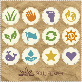 eco icons grid - How to Use Soul Flower's New Eco Icons