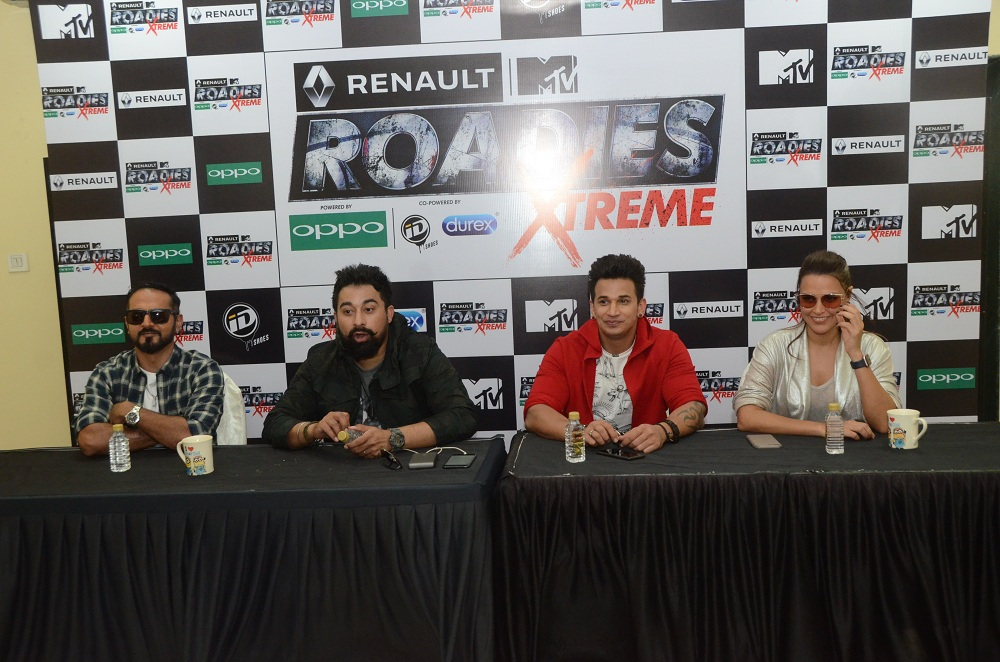 Renault MTV Roadies Xtreme hits the ground running for the most