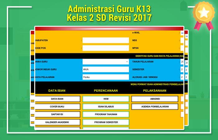 Administrasi Guru K13 SD
