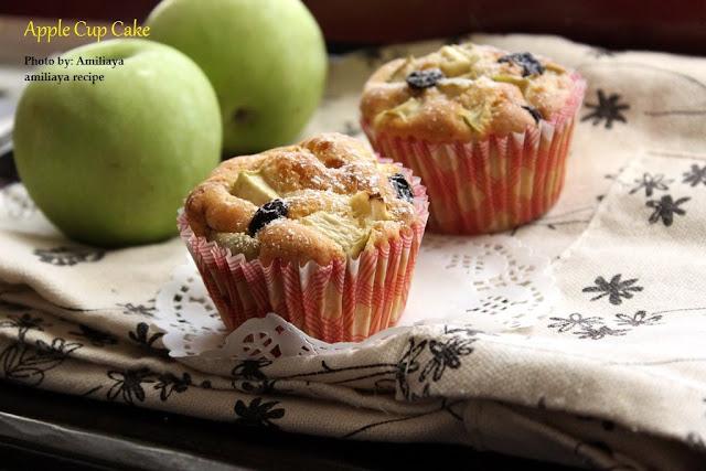 苹果杯子蛋糕