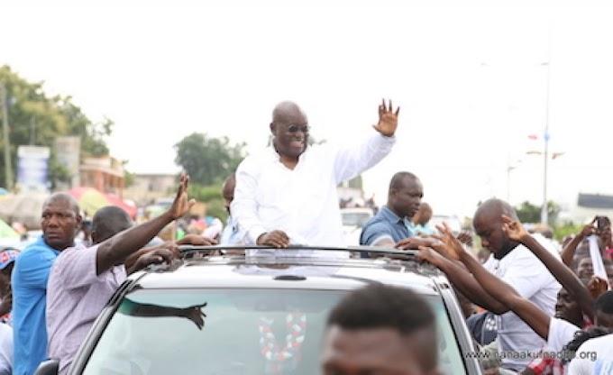 """""""I'll end Fulani menace"""" - Akufo-Addo assures Agogo residents"""
