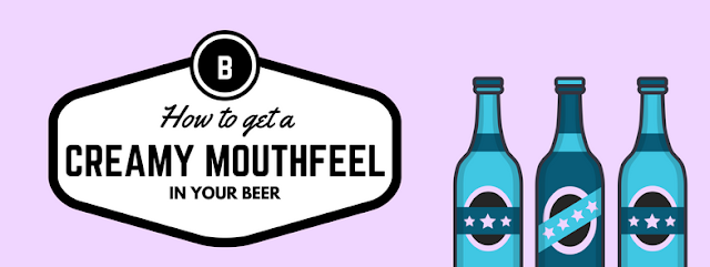 How to get a creamy mouth feel in your home brew beer