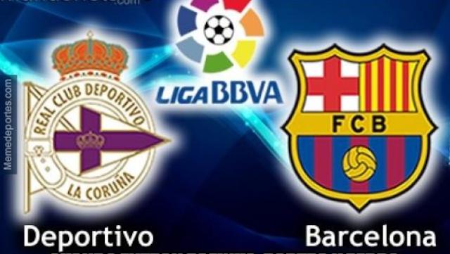 Deportivo La Coruna vs Barcelona
