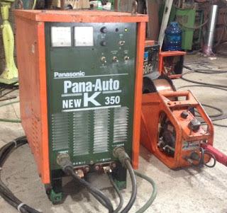 Máy hàn CO2 K350 Pana