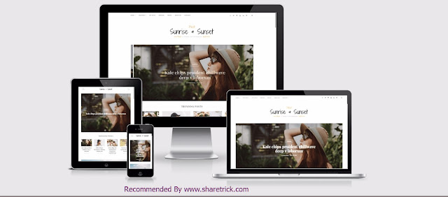 Sunrise & Sunset is the latest blogger template that comes with a lovely professional and attractive look. This theme is specially designed for personal, fashion and magazine blog lovers.