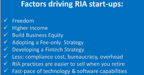 Planning for Success: Startup RIA Tips (Part 1)