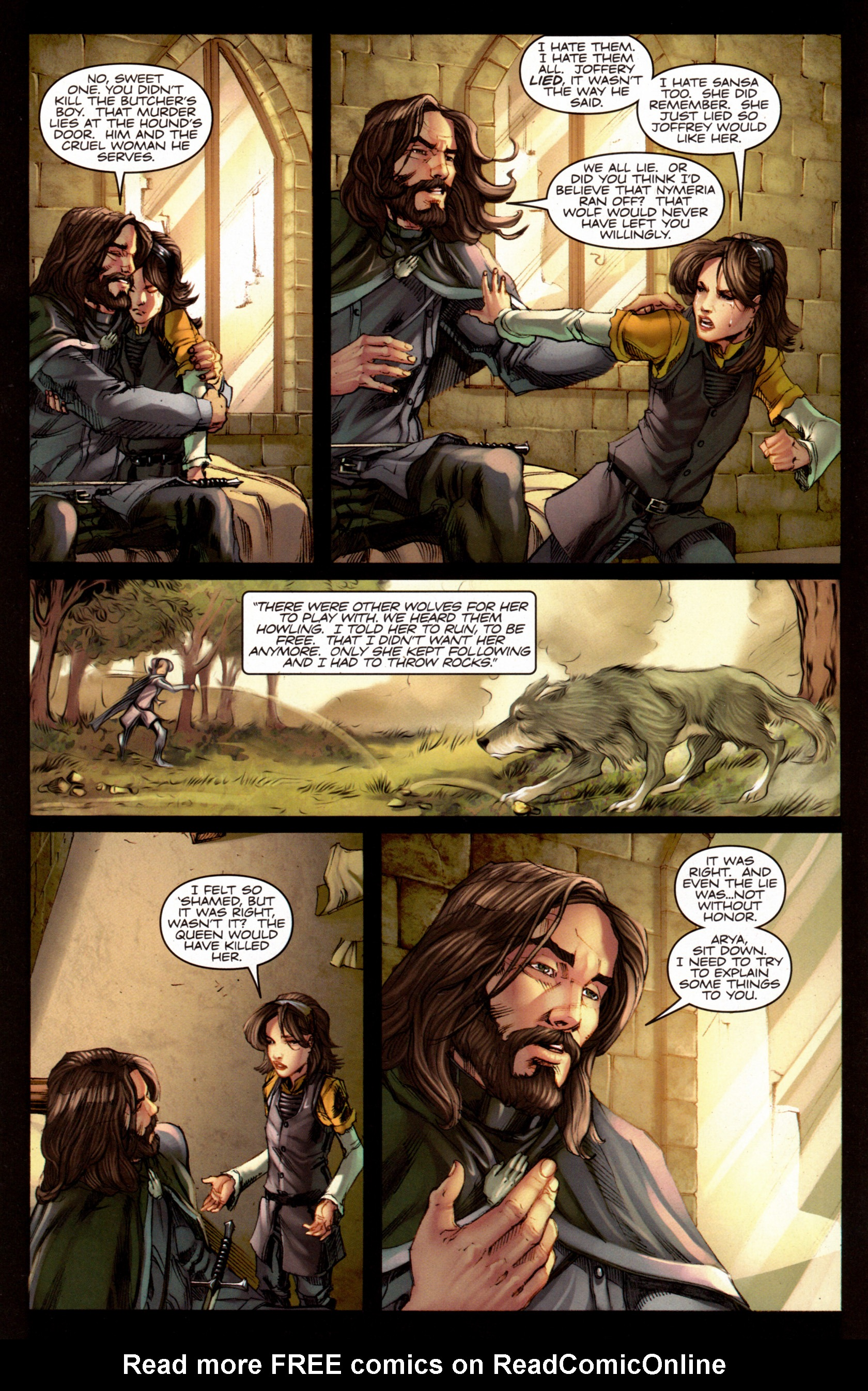 Read online A Game Of Thrones comic -  Issue #7 - 17