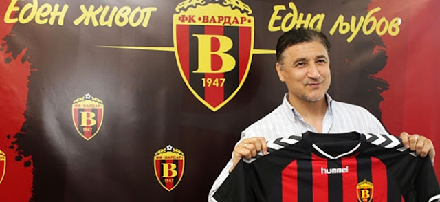 Legendary striker Darko Pancev named Vardar sports director