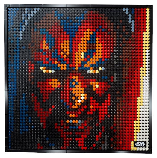 LEGO Art Series 31200 Star Wars the Sith Darth Maul