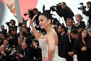 Aishwarya Rai At the Sink or Swim Premiere at 2018 Cannes Fi