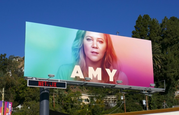 Amy spoof A Star Is Born Ally billboard