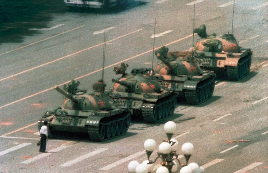 #5 Tank Man, Jeff Widener, 1989 - Top 100 Of The Most Influential Photos Of All Time