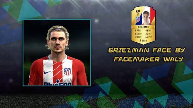 New Face Antoine Griezmann PES 2013