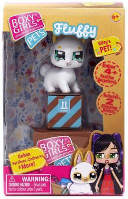 Boxy Girls Pets Fluffy