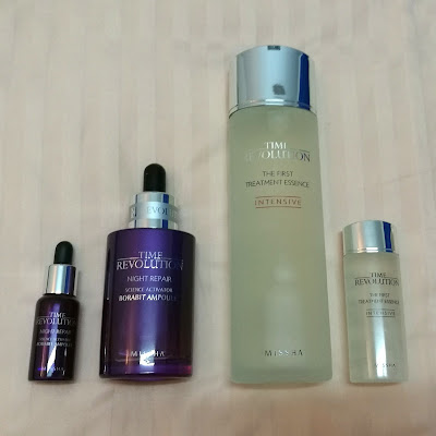 Missha Time Revolution Night Repair Ampoule with First Treatment Essence Intensive