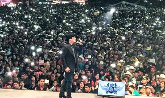 Julión Álvarez en concierto de la Ke Buena | Ximinia