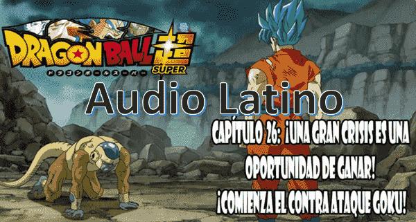 Ver capitulo 26 en audio latino online, Golden Freezer ha superado a Goku en fuerza y lo ataca despiadadamente.
