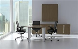 Verde Series VL-869 Small Round Conference Table by Cherryman Industries