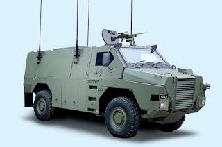 Bushmaster Protected Vehicle