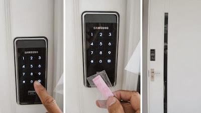 Khóa cửa điện tử cho căn hộ cao cấp