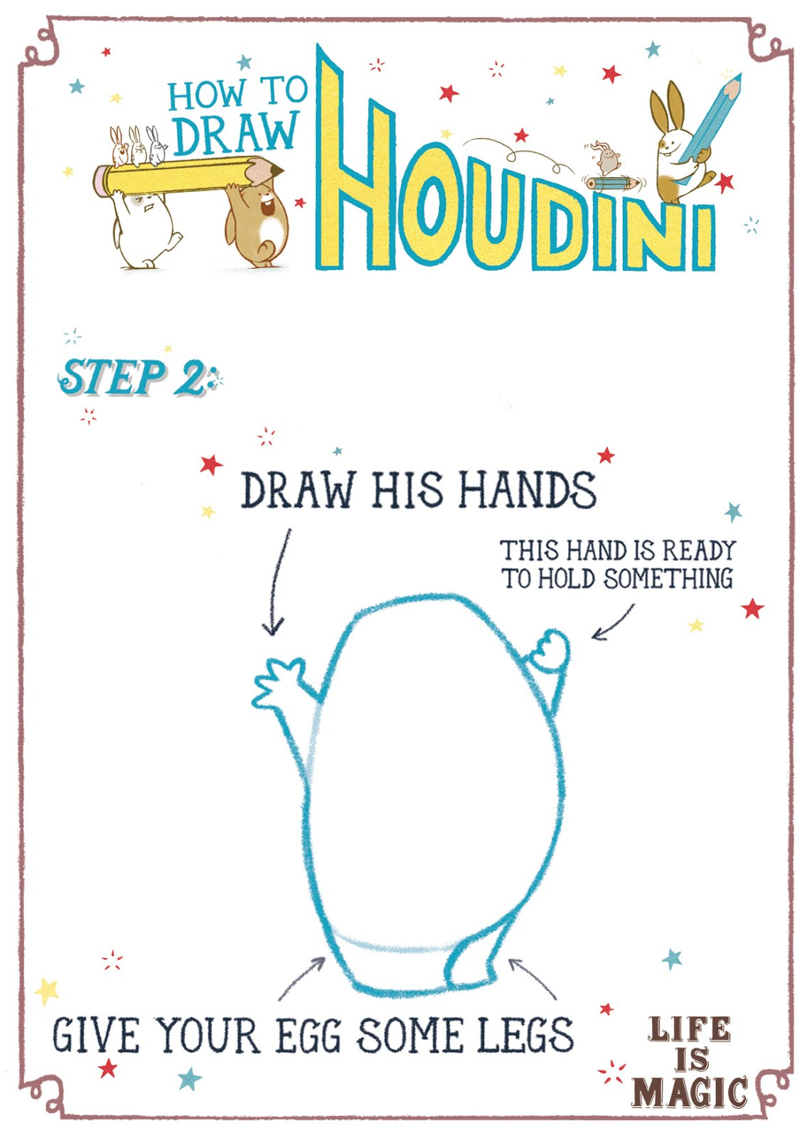 How to draw a BUNNY!