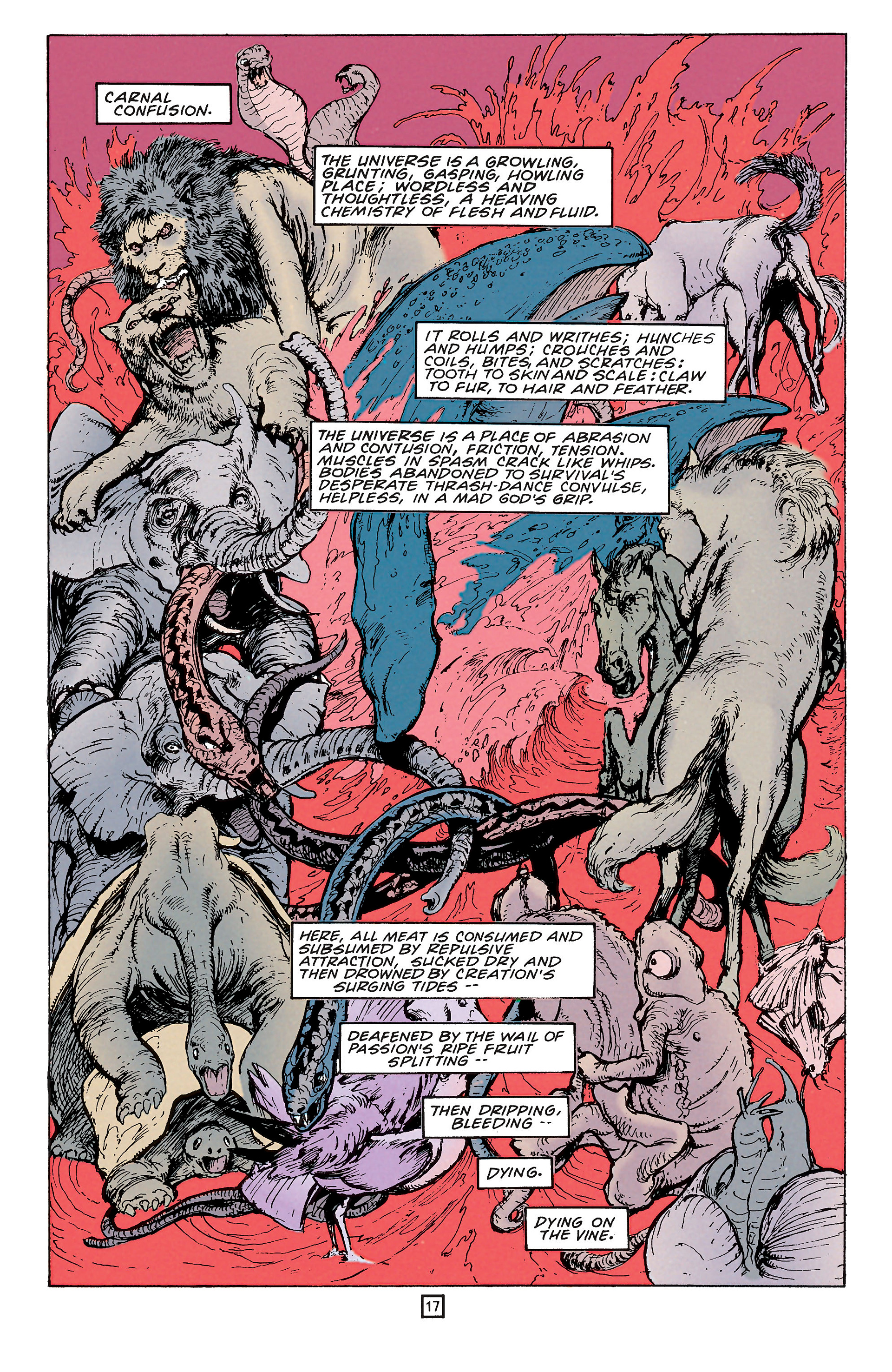 Read online Animal Man (1988) comic -  Issue #65 - 17