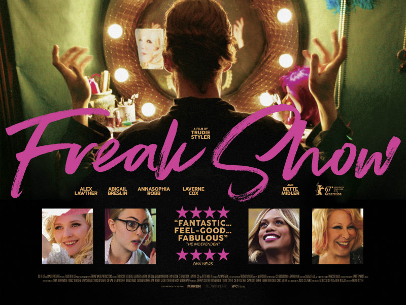 freak show movie poster