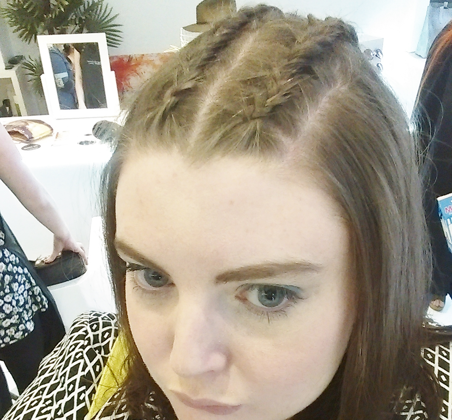 GETTING A BRAIDED HAIRSTYLE PART TWO - A Life With Frills