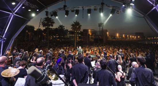 Viajar A Barcelona Concert Obc A La Platja
