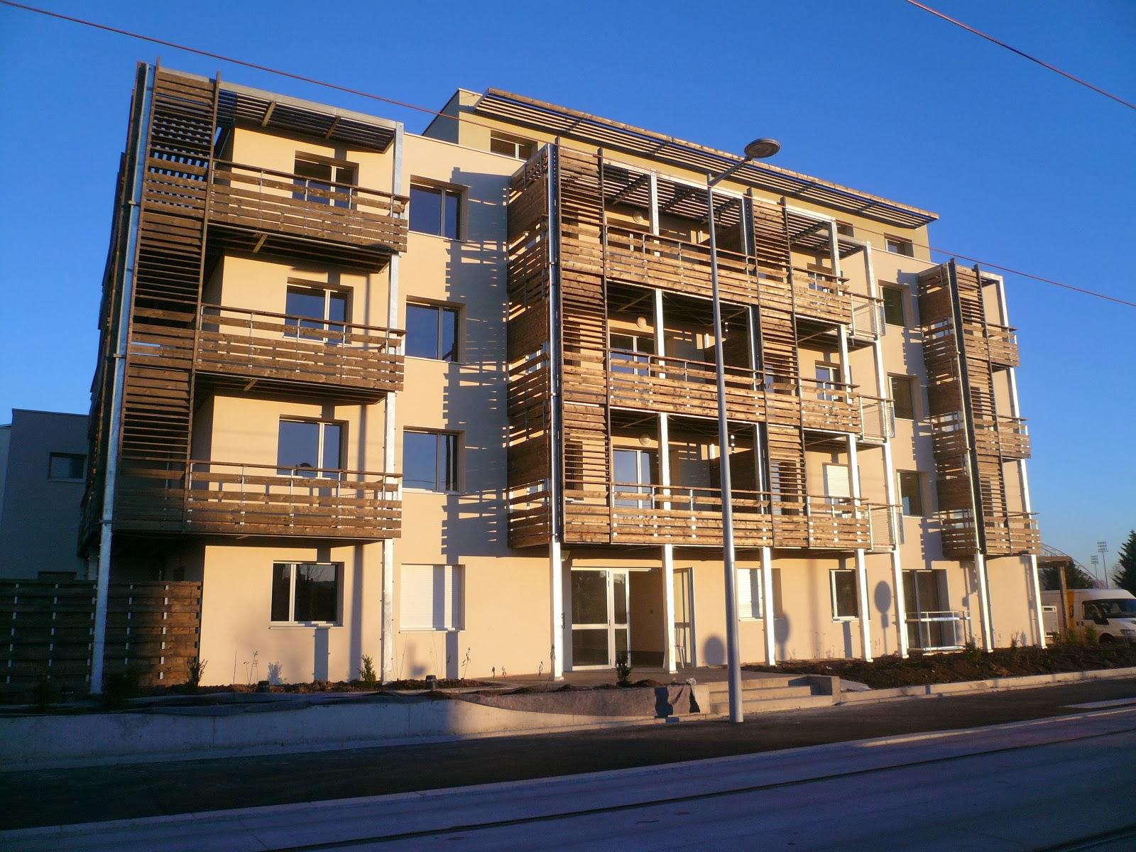 chantier 30 logements clermont ferrand 63 chm architectes. Black Bedroom Furniture Sets. Home Design Ideas