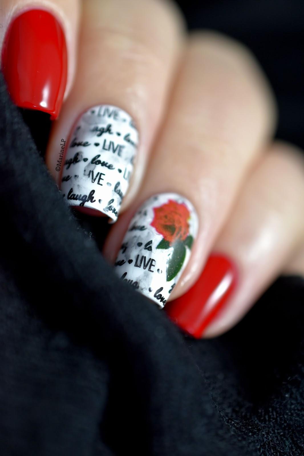 KISS débarque chez Sephora ! - Vintage floral nails - Marine Loves ...
