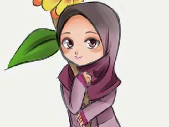 HD Wallpapers Hijab Cartoons