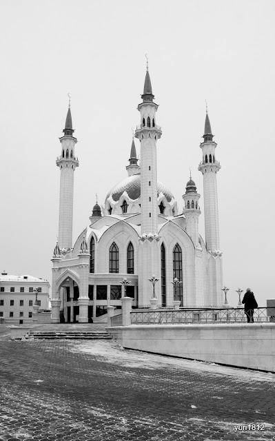 Главная татарская джума-мечеть Кул Шариф.