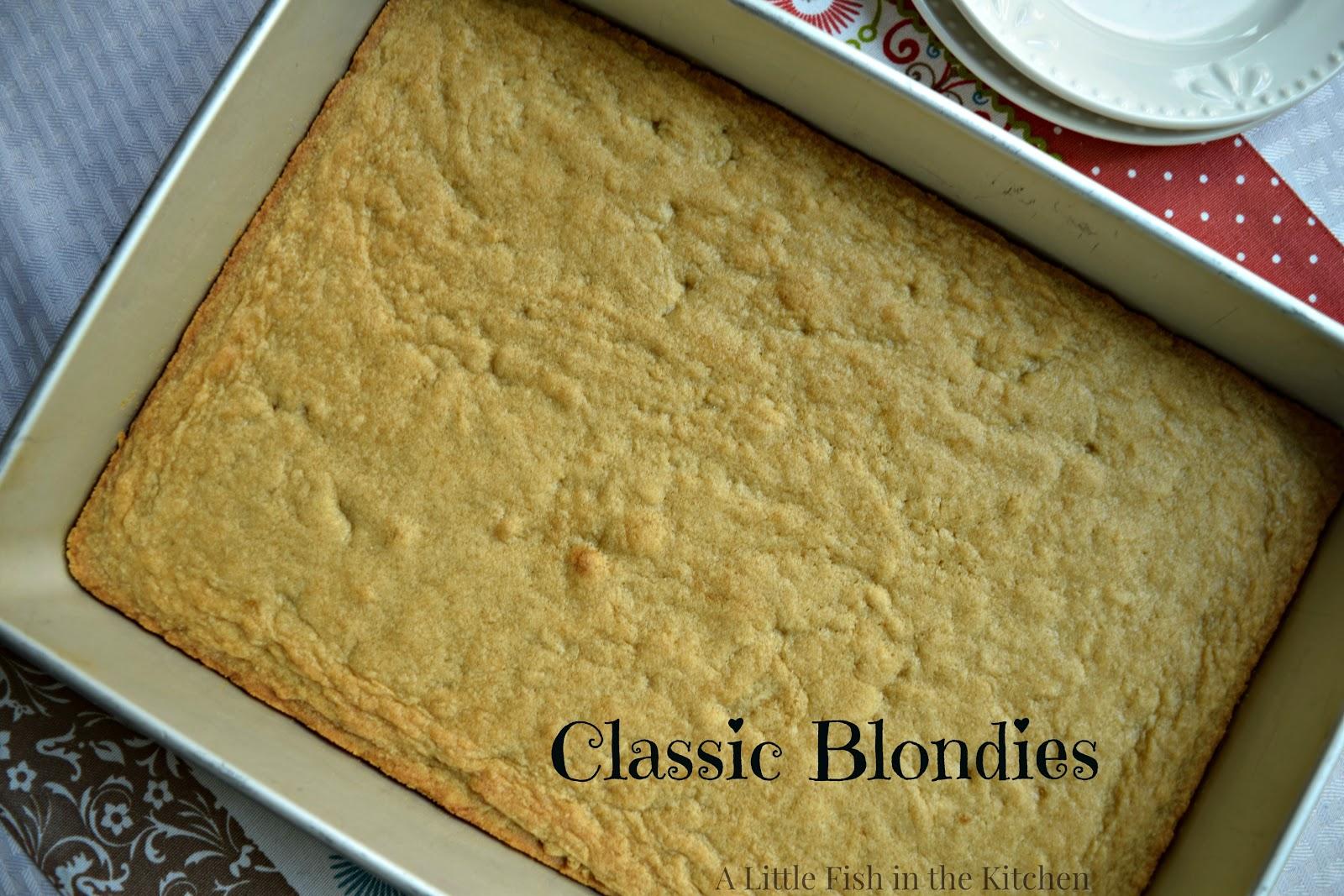 Classic Blondies