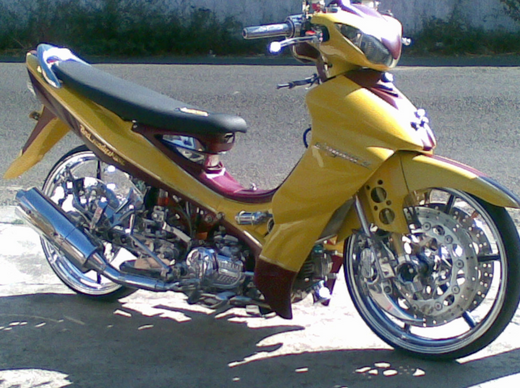 Gambar Modifikasi Motor Jupiter Z Low Rider Extreme