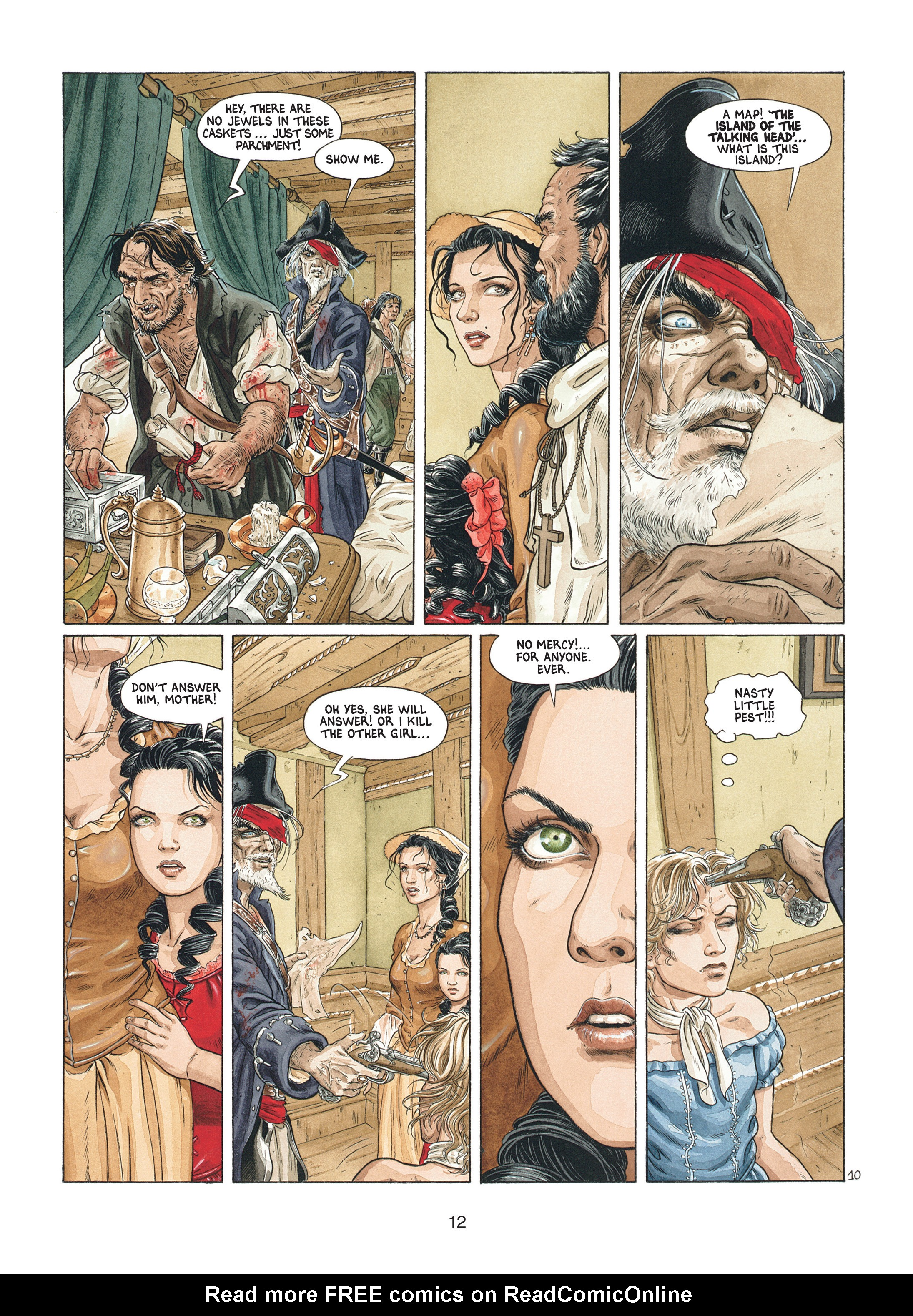 Read online Barracuda comic -  Issue #1 - 12