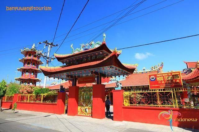 Kelenteng Hoo Tong Bio Banyuwangi.