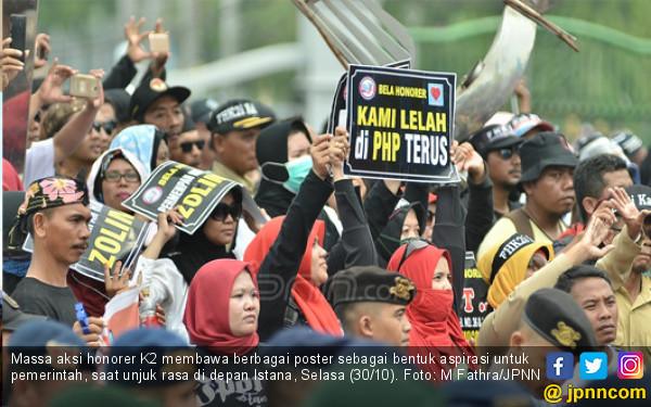 Honorer Tentukan Sikap Politik, Pilih Jokowi atau Prabowo?