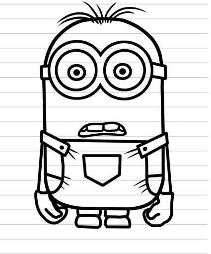 Mirzan Blog S 35 Terbaik Untuk Cara Menggambar Kartun Minion Dengan Pensil