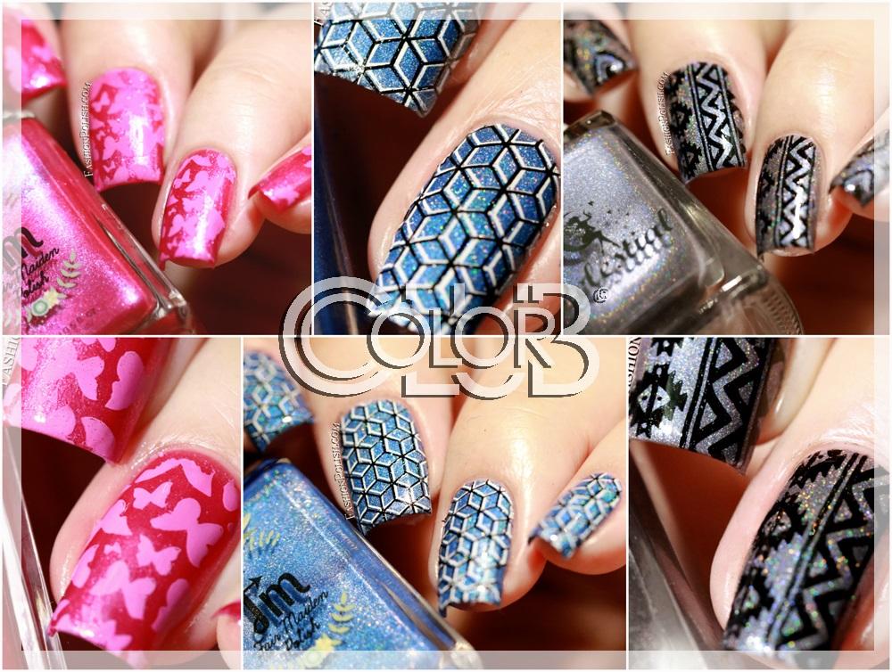 Fashion Polish: NEW Color Club stamping plates at Color4Nails ...