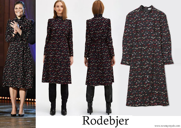 Crown Princess Victoria wore RODEBJER Edda Dress