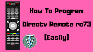 how to program direct remote rc73.