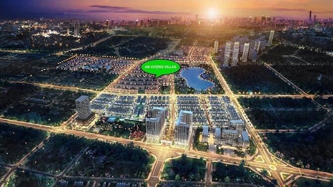 Chi tiết mẫu P3.3 biệt thự An Vượng Villa, Dương Nội - ducanhland