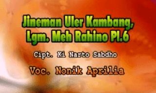 Lirik Lagu Jineman Uler Kambang