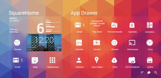 SquareHome 2 Premium Launcher v1.3.1 Apk – Windows 10 Style