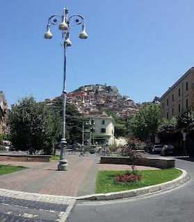 Rocca di Papa from Piazza della Repubblica